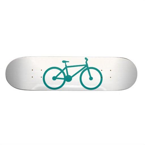 Bicicleta verde del trullo patin personalizado