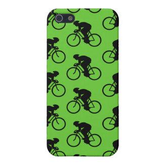 Bicicleta verde y negra Pern. iPhone 5 Carcasa