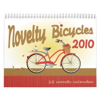Bicicletas 2010 de la novedad calendario