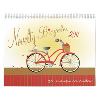 Bicicletas 2011 de la novedad calendario
