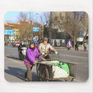 Bicicletas chinas - materiales de construcción alfombrilla de ratones