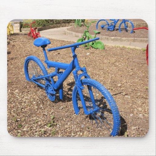 Bicicletas coloreadas Mousepad