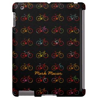 bicicletas de encargo del multicolor funda para iPad