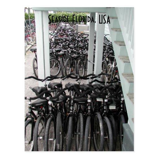 Bicicletas de la Florida de la playa Postal