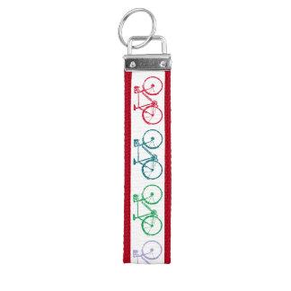 bicicletas del color. bici-temático llavero de pulsera