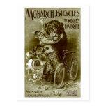 Bicicletas del monarca tarjetas postales