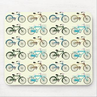Bicicletas del vintage tapete de raton