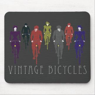 Bicicletas del vintage alfombrilla de ratón