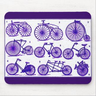 Bicicletas del vintage tapetes de ratones