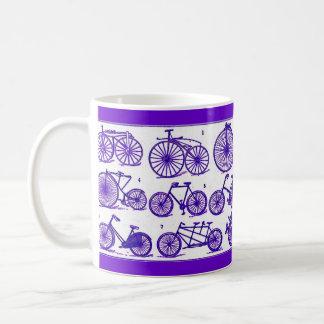 Bicicletas del vintage taza clásica