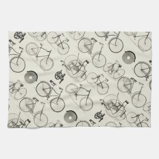 Bicicletas del vintage toalla