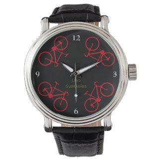 bicicletas. la hora de ciclo relojes de mano