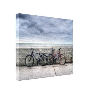 Bicicletas Lienzo Envuelto Para Galerias