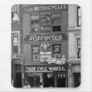 Bicicletas, motocicletas, y tajada Suey, 1900s Tapete De Raton