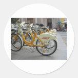 Bicicletas públicas etiqueta