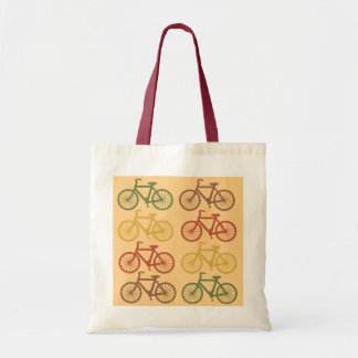 Bicicletas retras bolsas lienzo