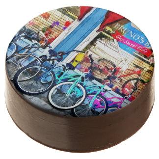 Bicicletas y chocolate