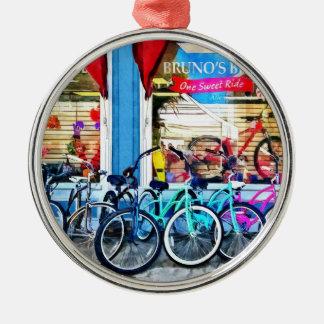 Bicicletas y chocolate adorno para reyes