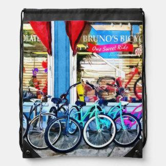 Bicicletas y chocolate mochilas