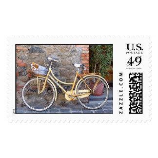 Bicicletta Postage Stamp