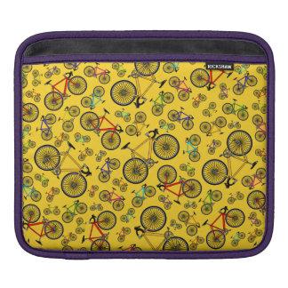 Bicis amarillas del camino manga de iPad