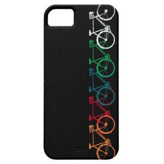 bicis de diversos colores iPhone 5 carcasas