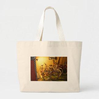 bicis de la noche bolsas lienzo
