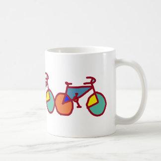 bicis del estallido tazas de café