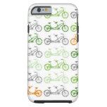 Bicis en tándem y bicis más en tándem funda de iPhone 6 tough