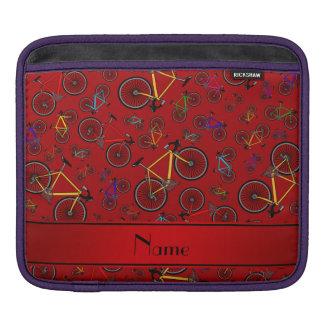 Bicis rojas conocidas personalizadas del camino manga de iPad