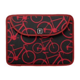 bicis rojas para los motoristas funda para macbook pro