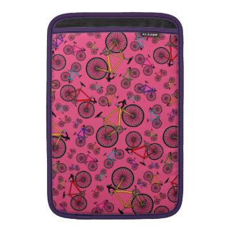 Bicis rosadas del camino funda macbook air
