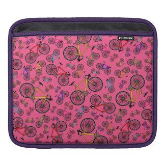 Bicis rosadas del camino fundas para iPads