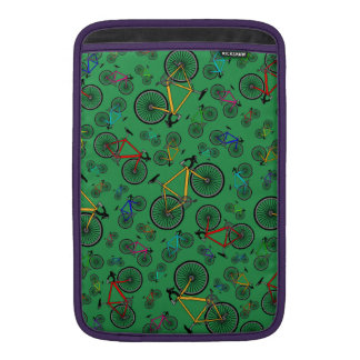 Bicis verdes del camino fundas para macbook air
