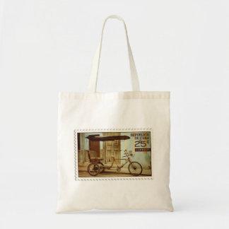 Bicitaxi Stamp Design Bag