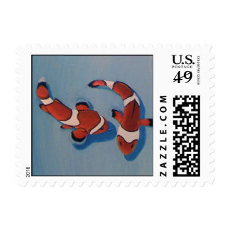 Bickering Clownfish Stamps