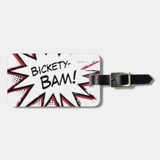 ¡Bickety-Bam! ¡Estilo frenético de Wolvie! Etiquetas Bolsas