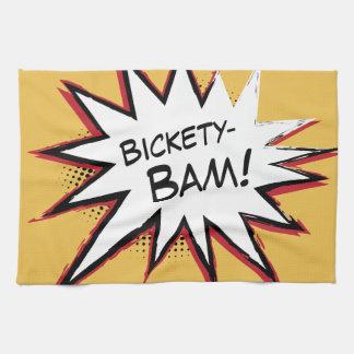 Bickety-Bam! Wolvie Berserk style! Kitchen Towels