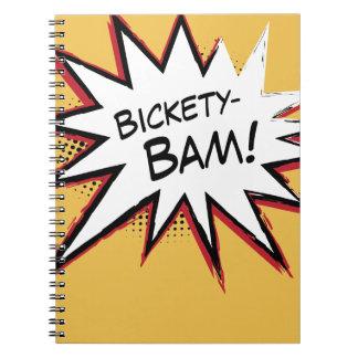 Bickety-Bam! Wolvie Berserk style! Spiral Note Book