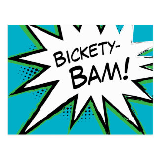 Bickety-Bam! Wolvie Berserk style! Postcard