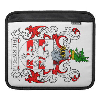 Bicknell Coat of Arms iPad Sleeve