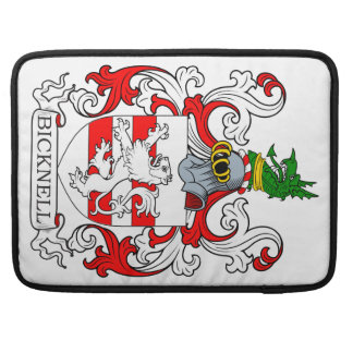 Bicknell Coat of Arms MacBook Pro Sleeves