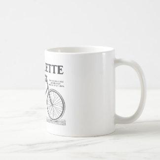 Biclyclette Classic White Coffee Mug
