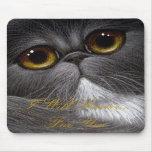 BICOLOR PERSIAN CAT Mousepad