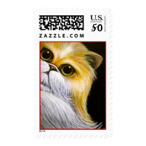 BICOLOR PERSIAN CAT  - VALENTINE'S DAY! Postage