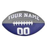BICOLORED Grey And Navy Blue Custom Football