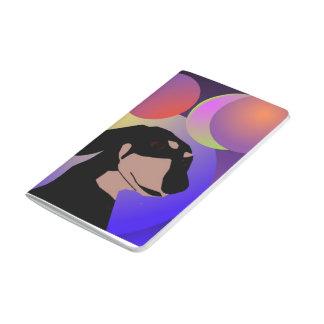 Bicontinental Dachshund Balloon Pocket Journal