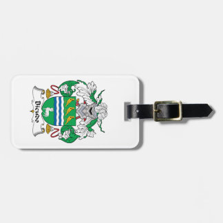 Bicudo Family Crest Bag Tag