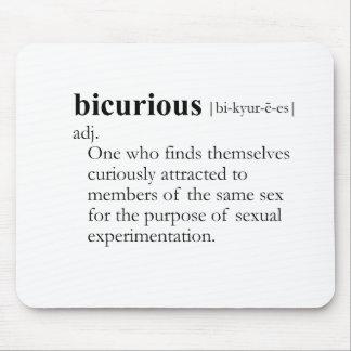BICURIOUS MOUSEPAD