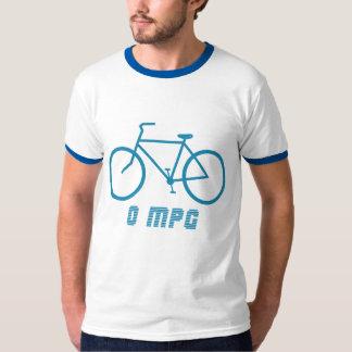 Bicycle 0 MPG Ringer T-Shirt